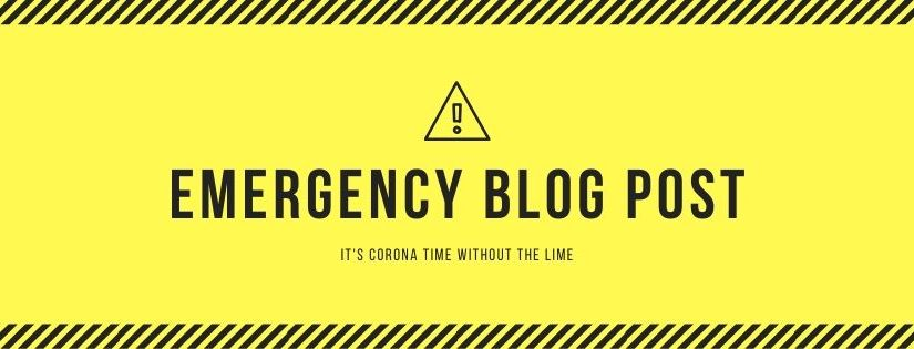 Emergency Blog Post