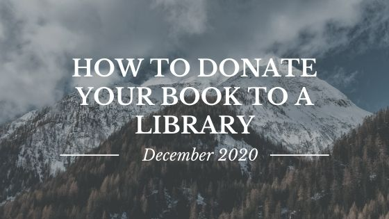 How To Donate Your Book to a Library